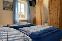 Ferienhaus Nordseemuschel in Norddeich - Elternschlafzimmer